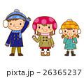 冬服の子供 26365237