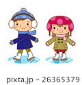スケートする子供 26365379