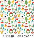クリスマス パターン シームレスのイラスト 26375277