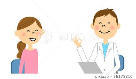 受診する女性 26375810