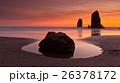 Sunset on Cannon Beach, Oregon 26378172