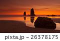 Sunset on Cannon Beach, Oregon 26378175