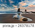 Sunset on Cannon Beach, Oregon 26378178