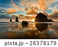Sunset on Cannon Beach, Oregon 26378179
