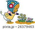 花と猪(女の子) 26379463