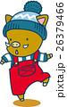 帽子を被った2頭身の猪 26379466