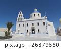 ギリシャ・サントリーニ島の教会 26379580