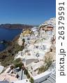 ギリシャ・サントリーニ島の街並み 26379591