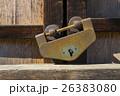 南京錠 古い 錆の写真 26383080