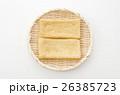 油揚げ 稲荷揚げ 寿司あげの写真 26385723