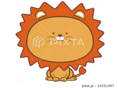かわいいライオンのイラスト素材 26391997 Pixta