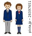 中学生 高校生 男女のイラスト 26397651