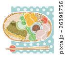 お弁当 べんとう おべんとうのイラスト 26398756
