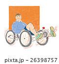 殘疾人士運動插畫 26398757