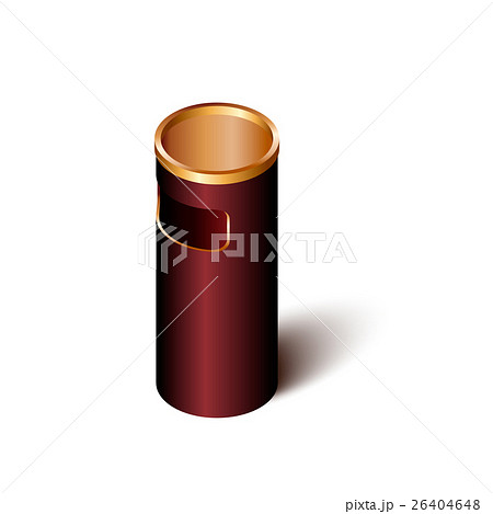Trash can. Isolated on white.Vector illustration.のイラスト素材 [26404648] - PIXTA