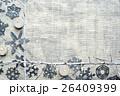 切り絵 フレーム キャンドルの写真 26409399
