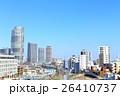 東京 市街地の町並み 26410737