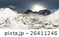 panorama of mountains. made with the 360 degree 26411246