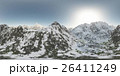panorama of mountains. made with the 360 degree 26411249