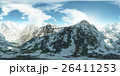 panorama of mountains. made with the 360 degree 26411253