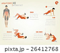 info graphic of abdominal ABS core body workout 26412768