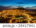 トルコ マルディンの旧市街の夜景 26417941