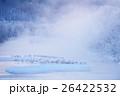霧 樹氷 北海道の写真 26422532