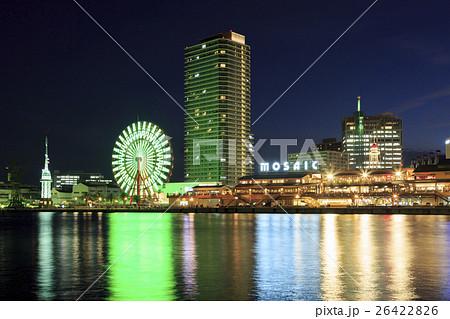 神戸・ハーバーランドの夜景 26422826