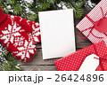 クリスマス カード 葉書の写真 26424896