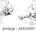 Abstract molecular structure on white background 26424997