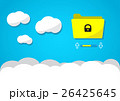 Cloud computing or cloud storage concept 26425645