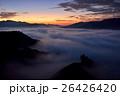 雲海 朝焼け 国見ケ丘の写真 26426420