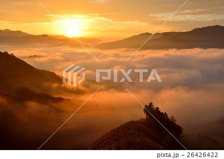 高千穂の雲海 26426422