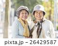 女性 笑顔 シニアの写真 26429587