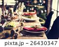 クリスマス ごちそう 家族の写真 26430347