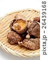 椎茸 どんこ 干し椎茸の写真 26439168