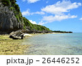 海 沖縄 青空の写真 26446252