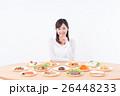 ダイエット 料理 女性の写真 26448233
