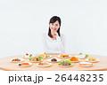 ダイエット 料理 女性の写真 26448235