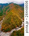 祖谷渓 紅葉 谷の写真 26448606