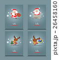 Set of cute Christmas character. 26458160