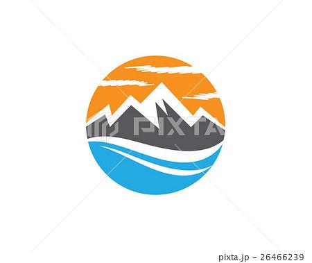 Mountain Logoのイラスト素材 [26466239] - PIXTA