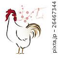 酉年 雄鶏と梅 26467344
