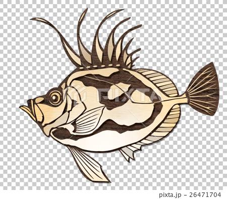 물고기 일러스트 26471704