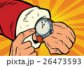 時計 サンタクロース クラウスのイラスト 26473593