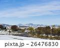 初雪の八王子から見る奥多摩の山々 26476830