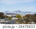 初雪の八王子から見る奥多摩の山々 26476833