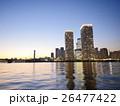 晴海 高層マンション 夕暮れの写真 26477422