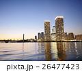 晴海 高層マンション 夕暮れの写真 26477423