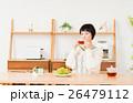 若い女性(紅茶) 26479112